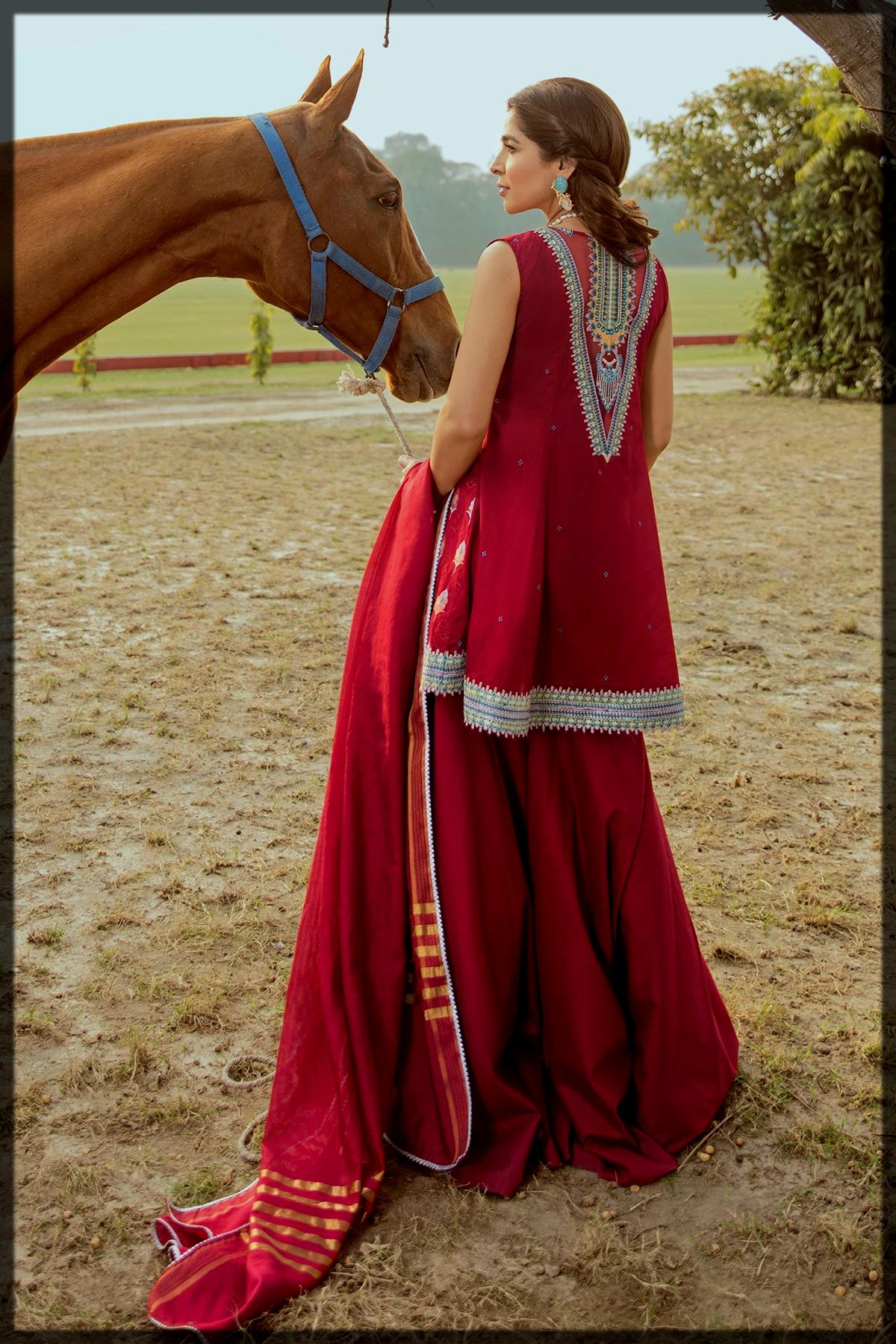 latest summer collection of Saira Rizwan