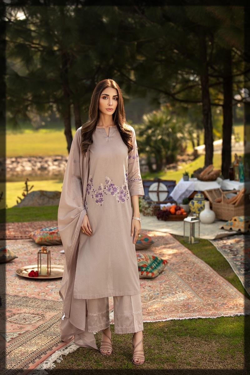 lavish three-piece summer pret dress