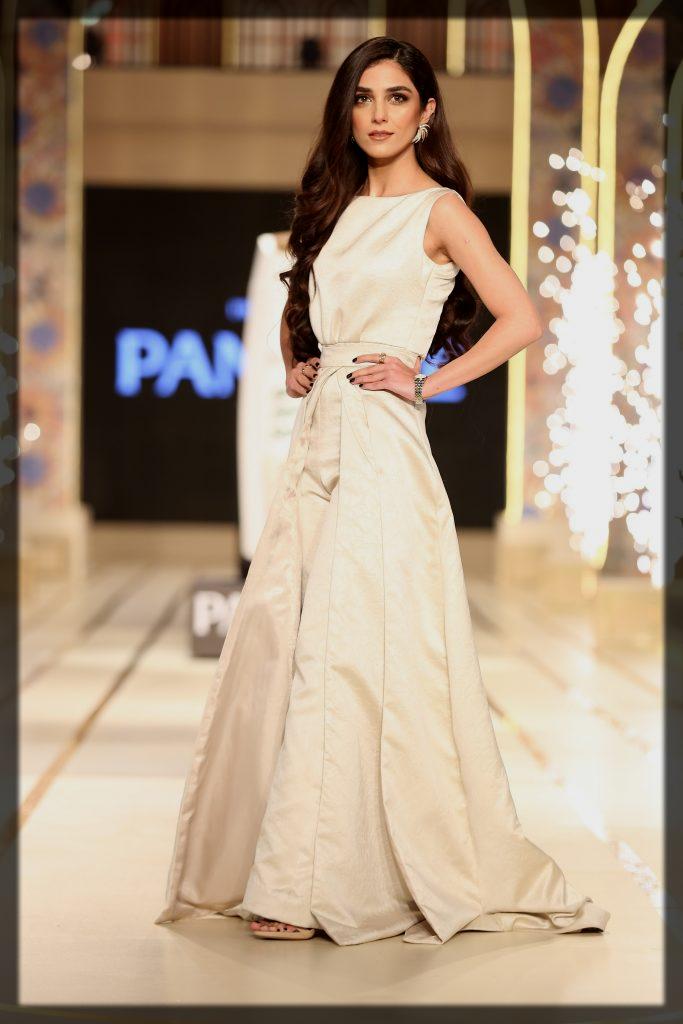 maya ali Bridal Couture Week look