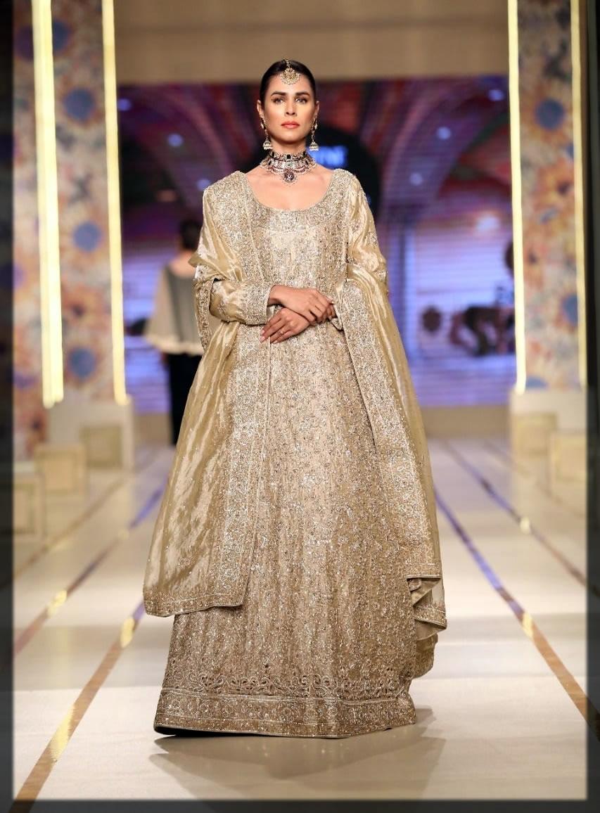 nude hues bridal dress by nisa