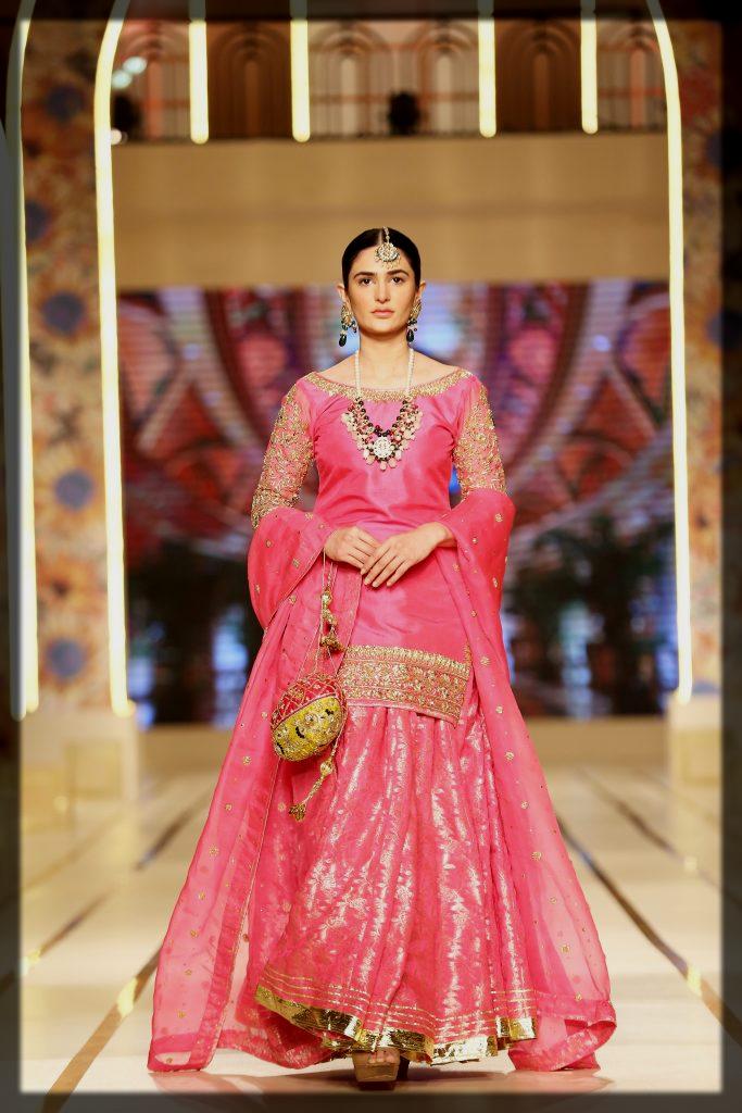 pretty pink haris shakeel dresses