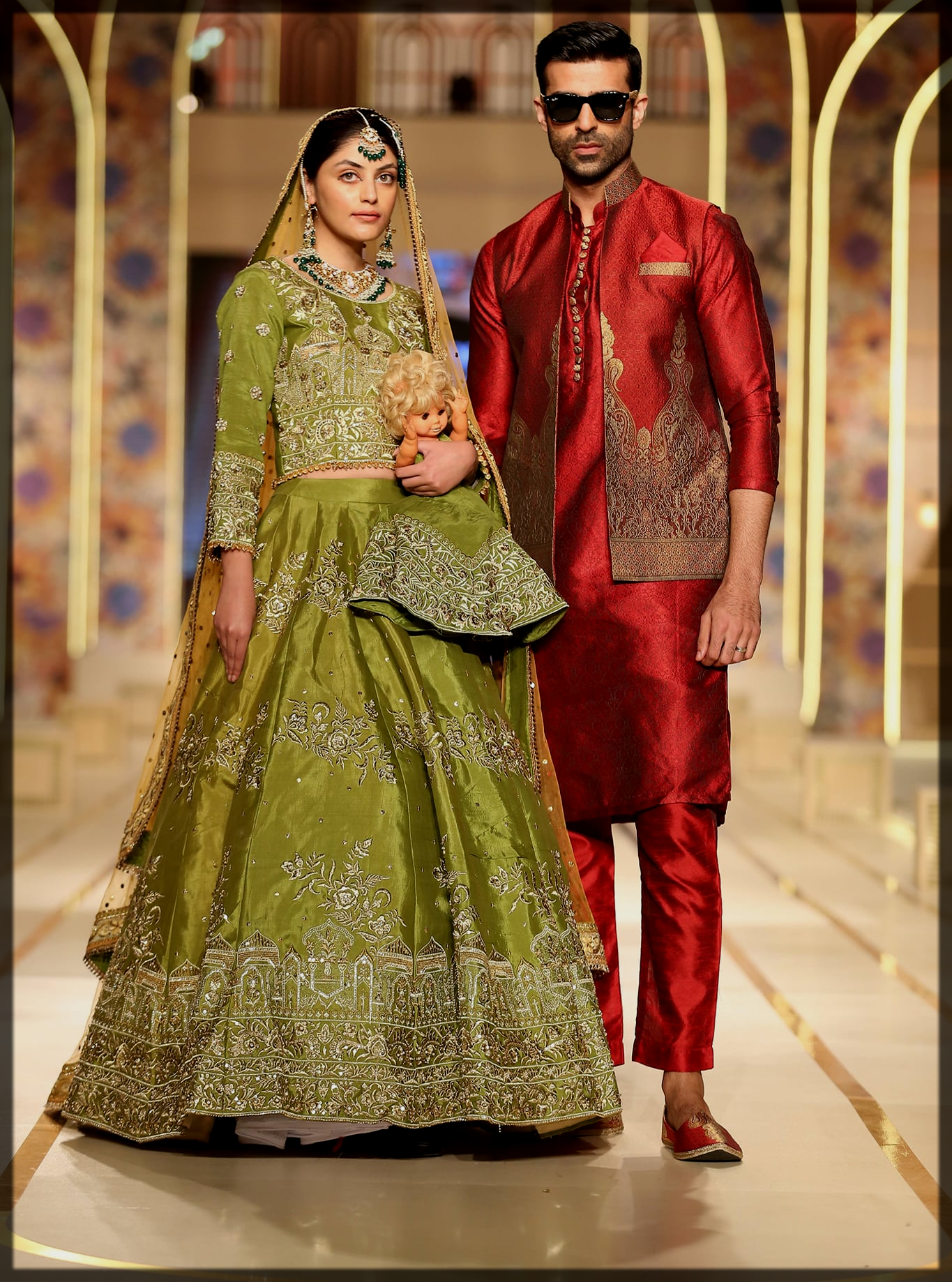 rich bhaiya bridal couture week collection