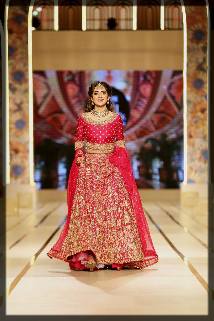 saboor ali at Bridal Couture Week