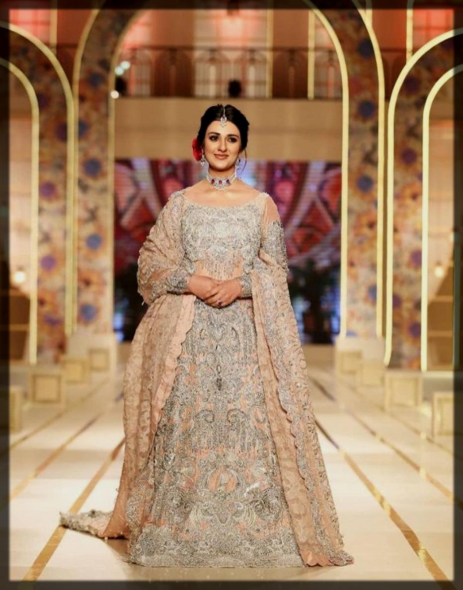 sarah khan at Bridal couture week