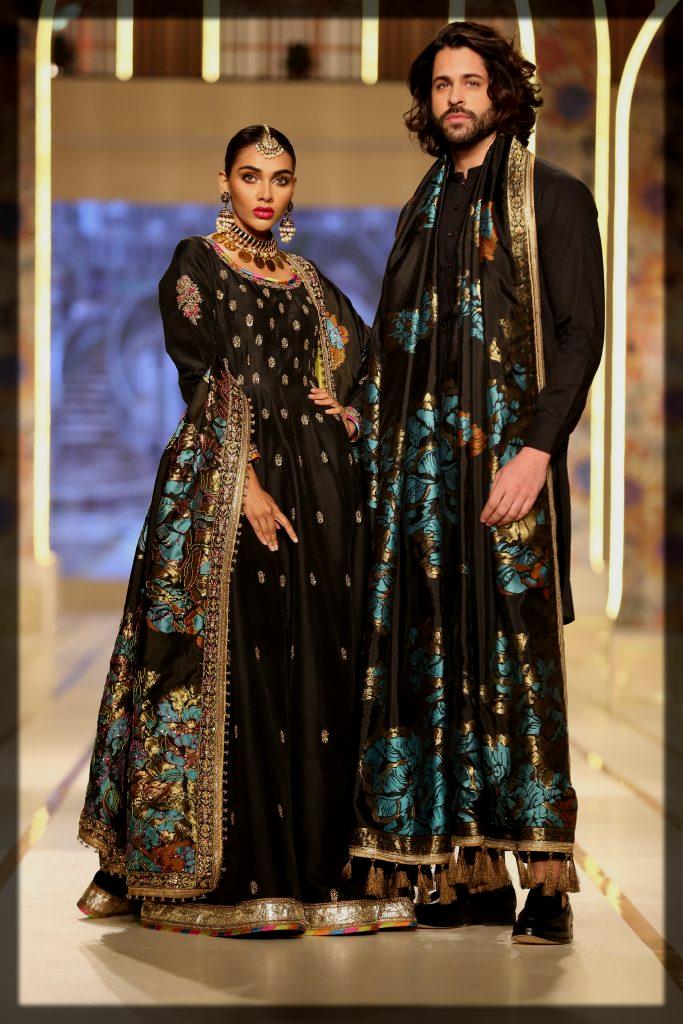 stunning black collection of fahad