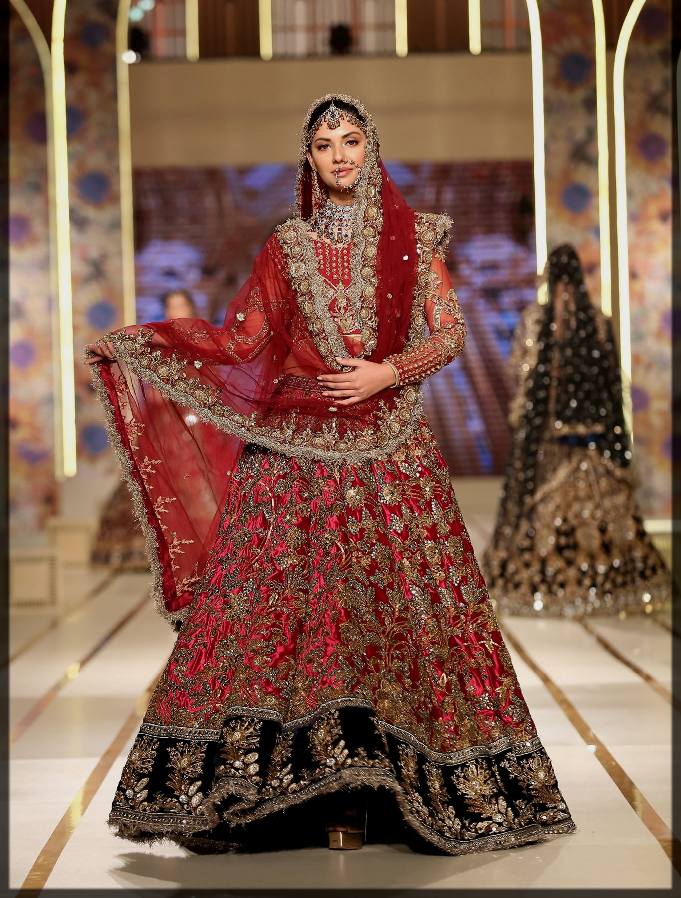 stunning bridal wear by kashees