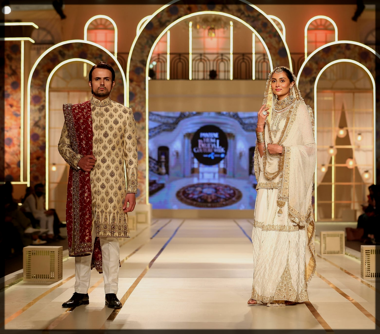 usman mukhtar at bridal couture week