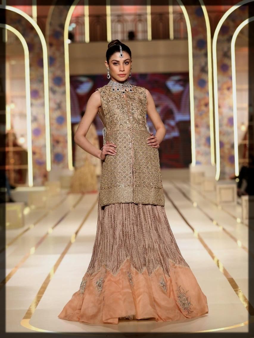 uzma babar bridal couture week
