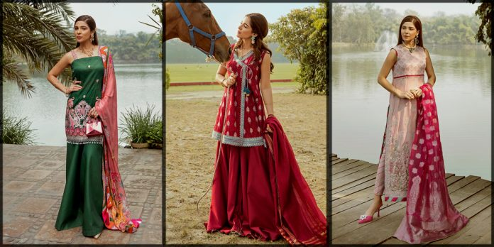 wonderful Saira Rizwan Summer Lawn Collection