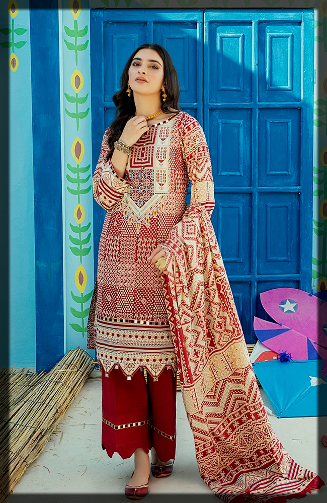Alzohaib Textiles Summer Collection for women