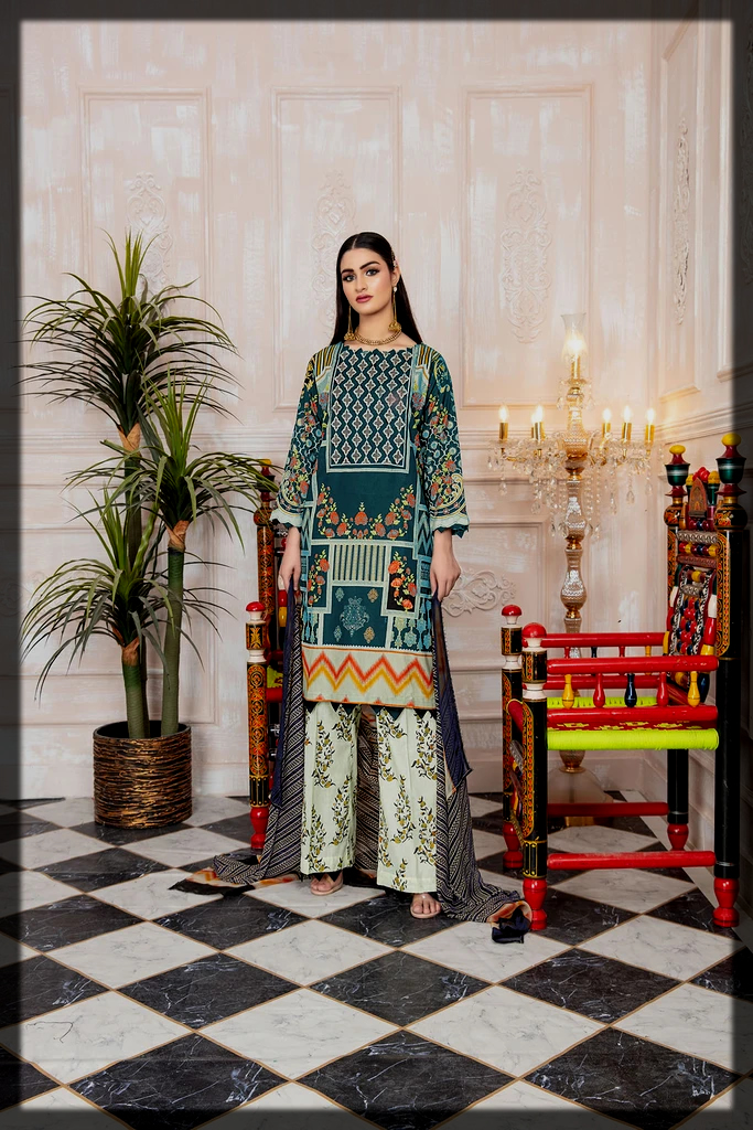 Attraction By Kamal Embroidery Collection for Women