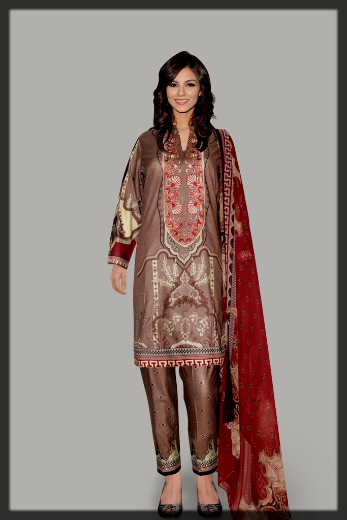 Attraction By Kamal Embroidery Collection