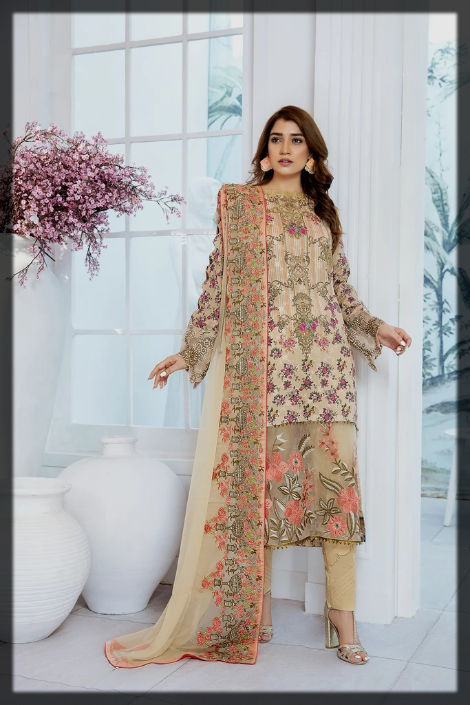 Attraction Luxury Lawn Suit for Women