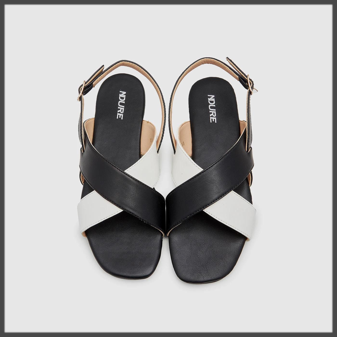 Cross-Strap Ladies Sandals by Ndure