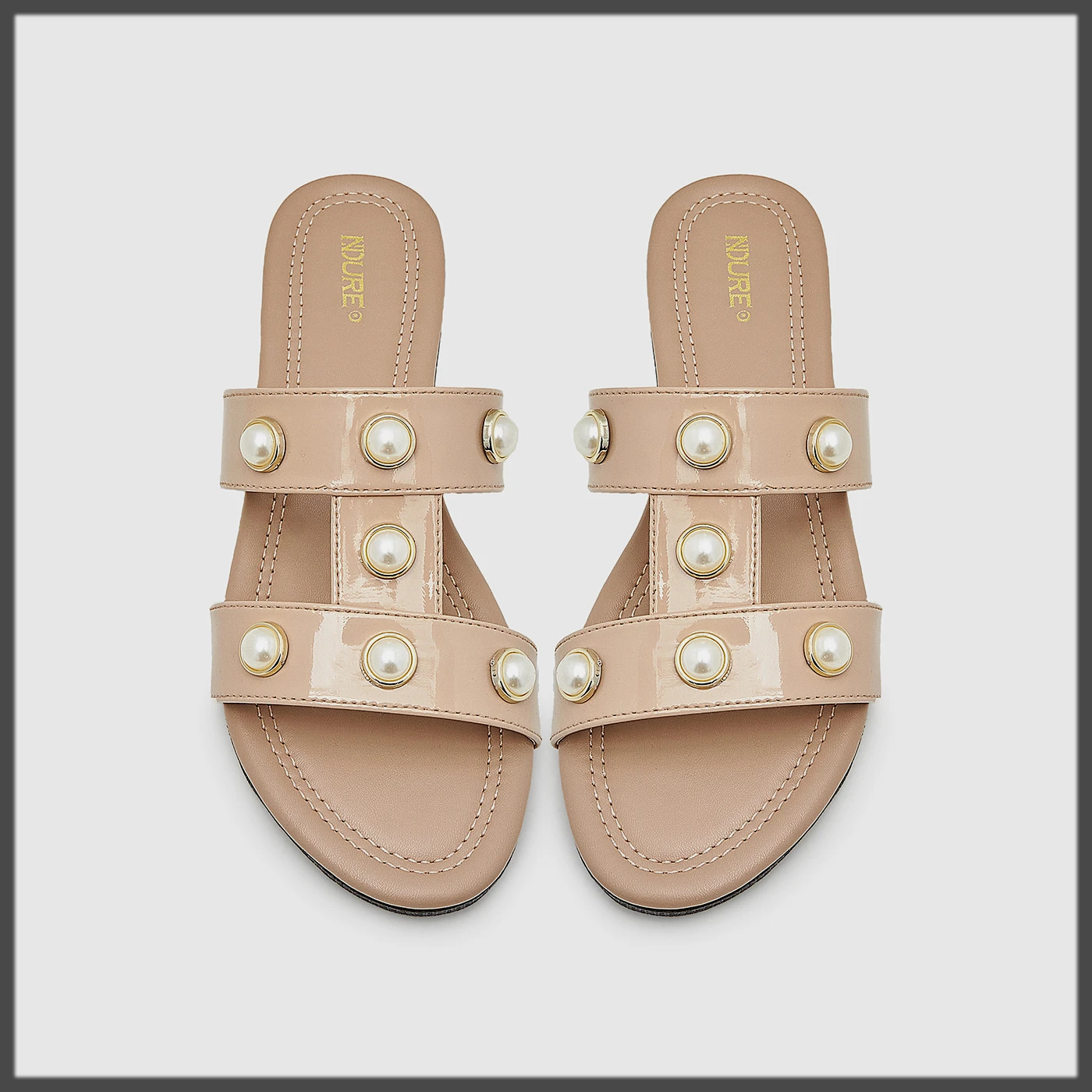H-Strap Summer Flats Shoes for Women