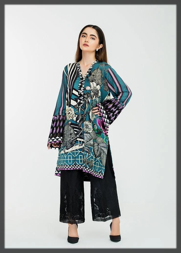 Home Wear Casual Kurta by Afrozeh