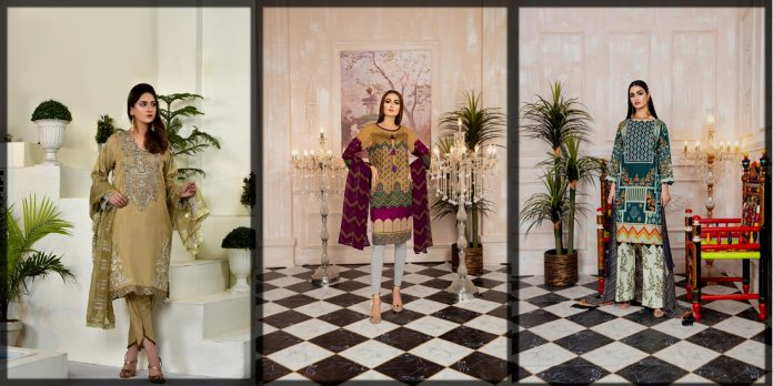 Latest Attraction By Kamal Embroidery Collection for Women