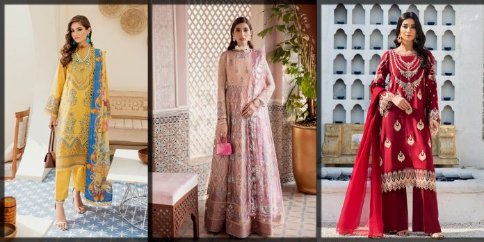 Latest and Beautiful Afrozeh Summer Collection for Women