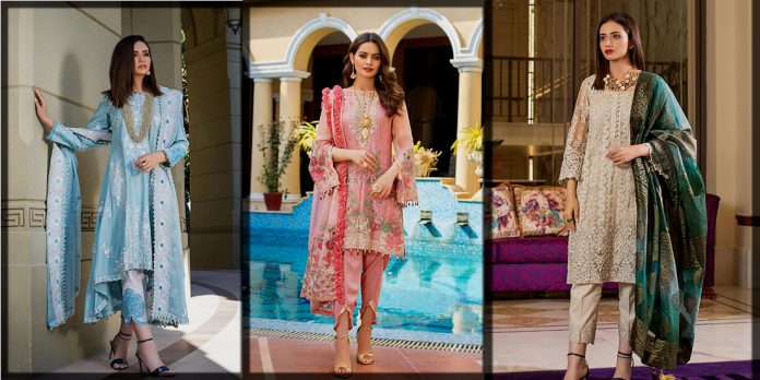 Latest and classy Alzohaib Textile Summer Collection for Women