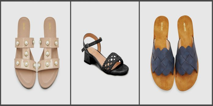 Latest ndure shoes Summer Collection for Women and Young Girls