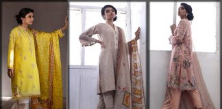 Nida Azwer Luxury Lawn Collection 2021 Summer New Arrivals [Prices]
