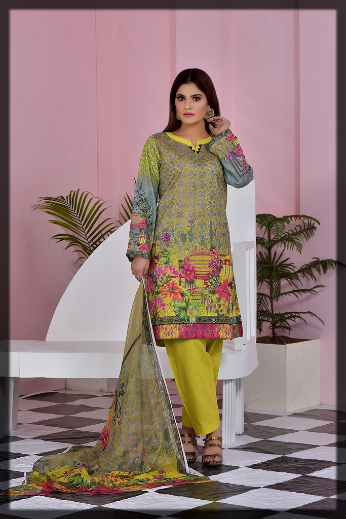 Printed Chicken Kari Summer Collection by Attraction