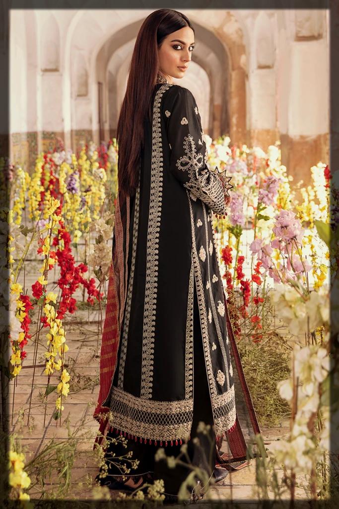 Qalamkar Luxury Lawn Collection for ladies