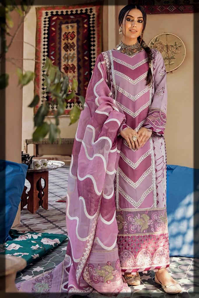 Qalamkar Luxury Lawn Collection