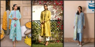 Zaha by Khadijah Shah Luxury Lawn Summer Collection 2021 with Prices