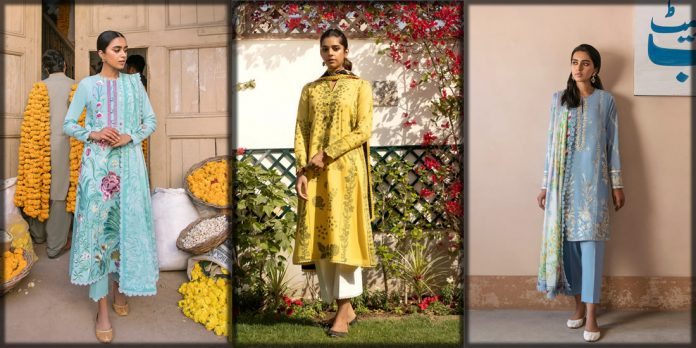 Zaha Luxury Lawn Collection
