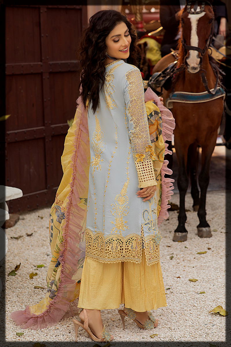 appealing Mushq Luxury Lawn Suit for Summer
