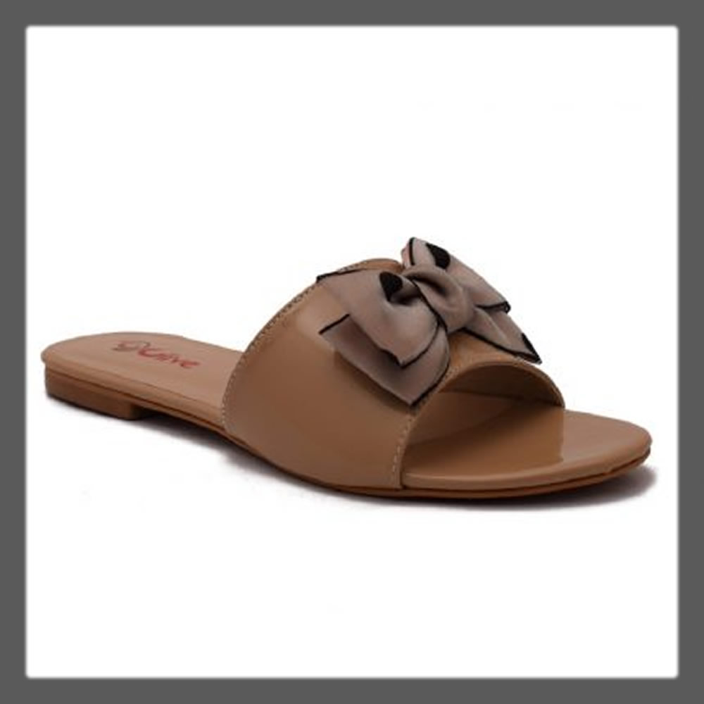 brown casual slipper for women
