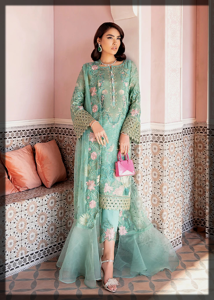 classy Afrozeh Summer Collection for women