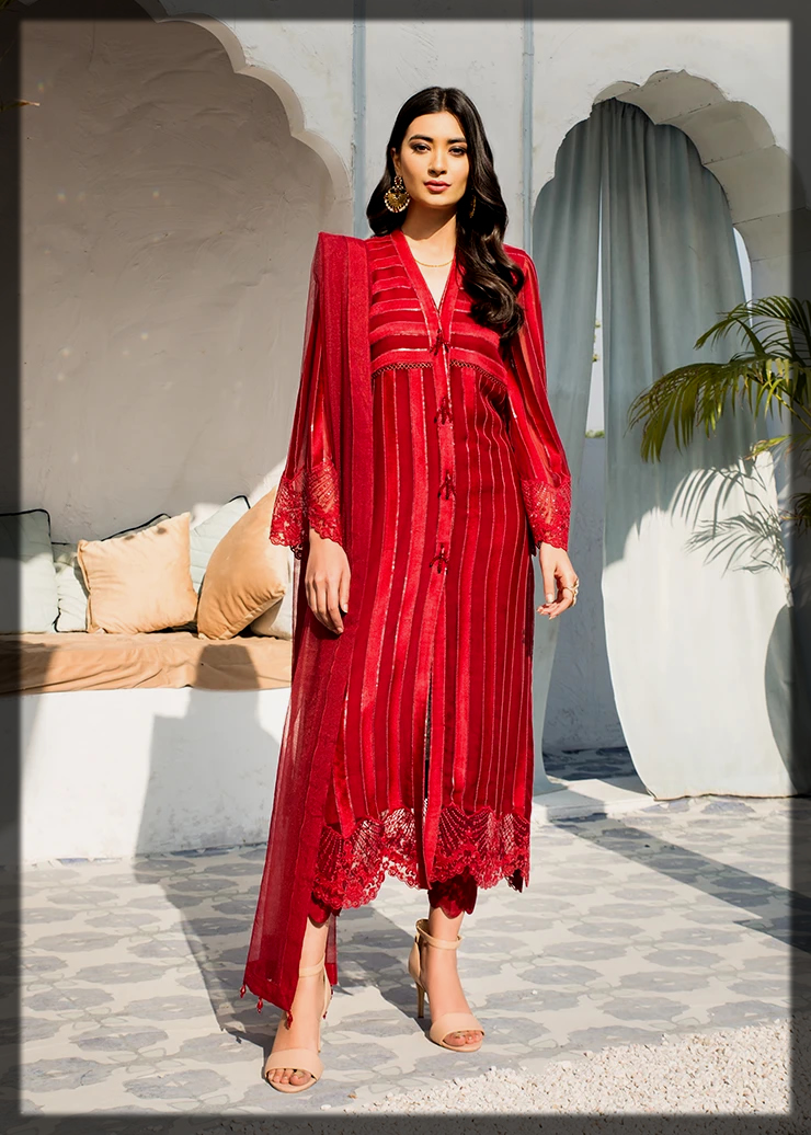 classy Afrozeh Summer Collection