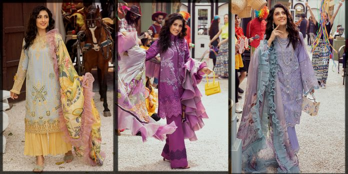 classy and latest Mushq luxury lawn collection