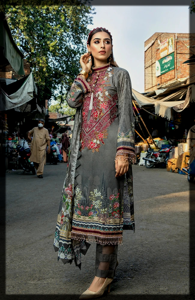 classy three piece suit by alzohaib