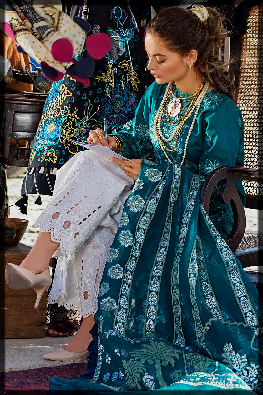 erum khan lawn collection for women