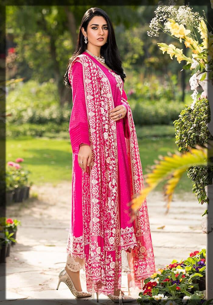 glorious pink summer dress