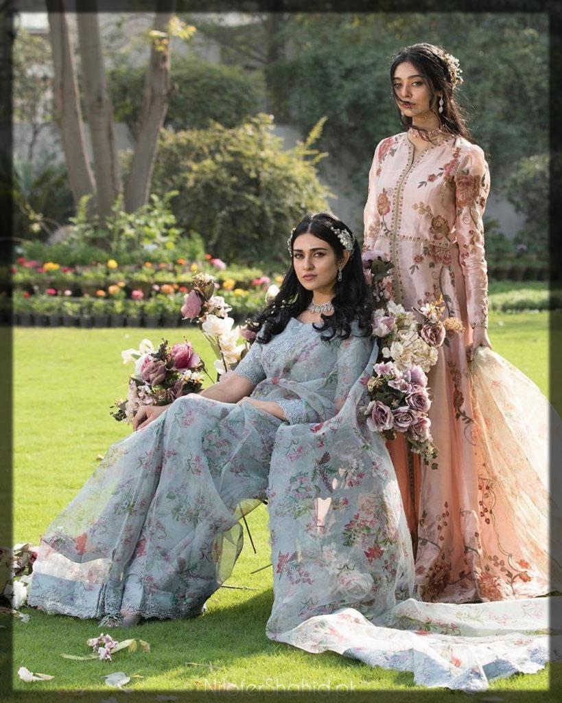 gorgeous sara khan and noor zafar khan