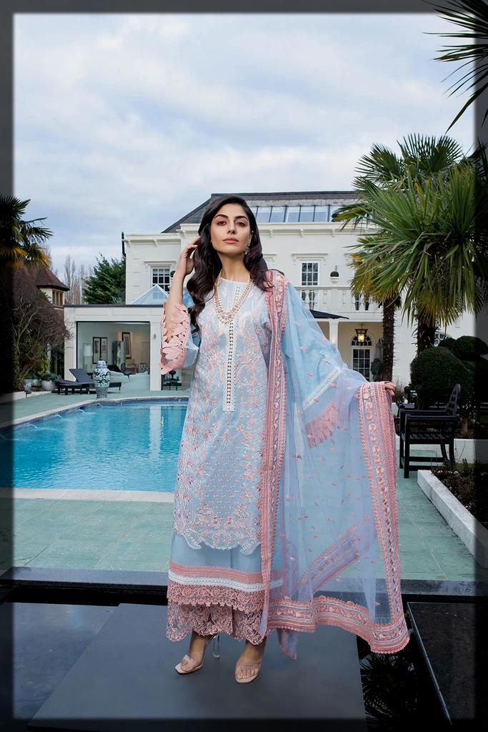 impressive summer luxury lawn suit for women
