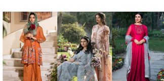 Nilofer Shahid Luxury Spring Collection 2021 - Designer Dresses with Prices