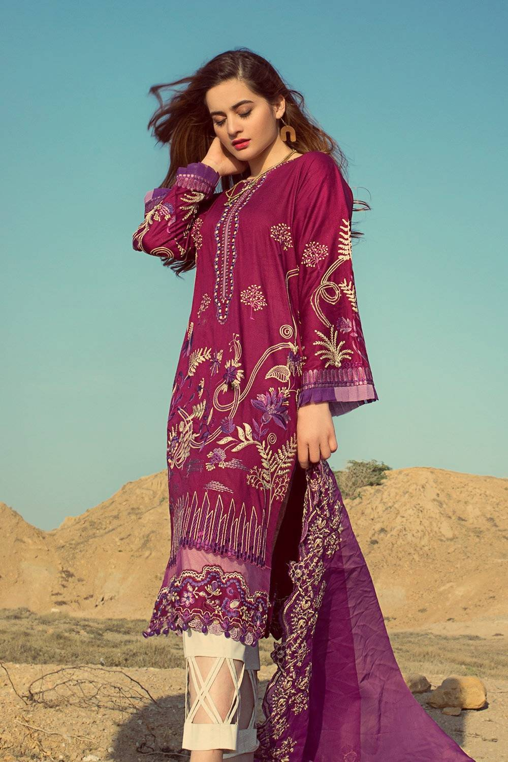 Erum Khan Lawn Collection