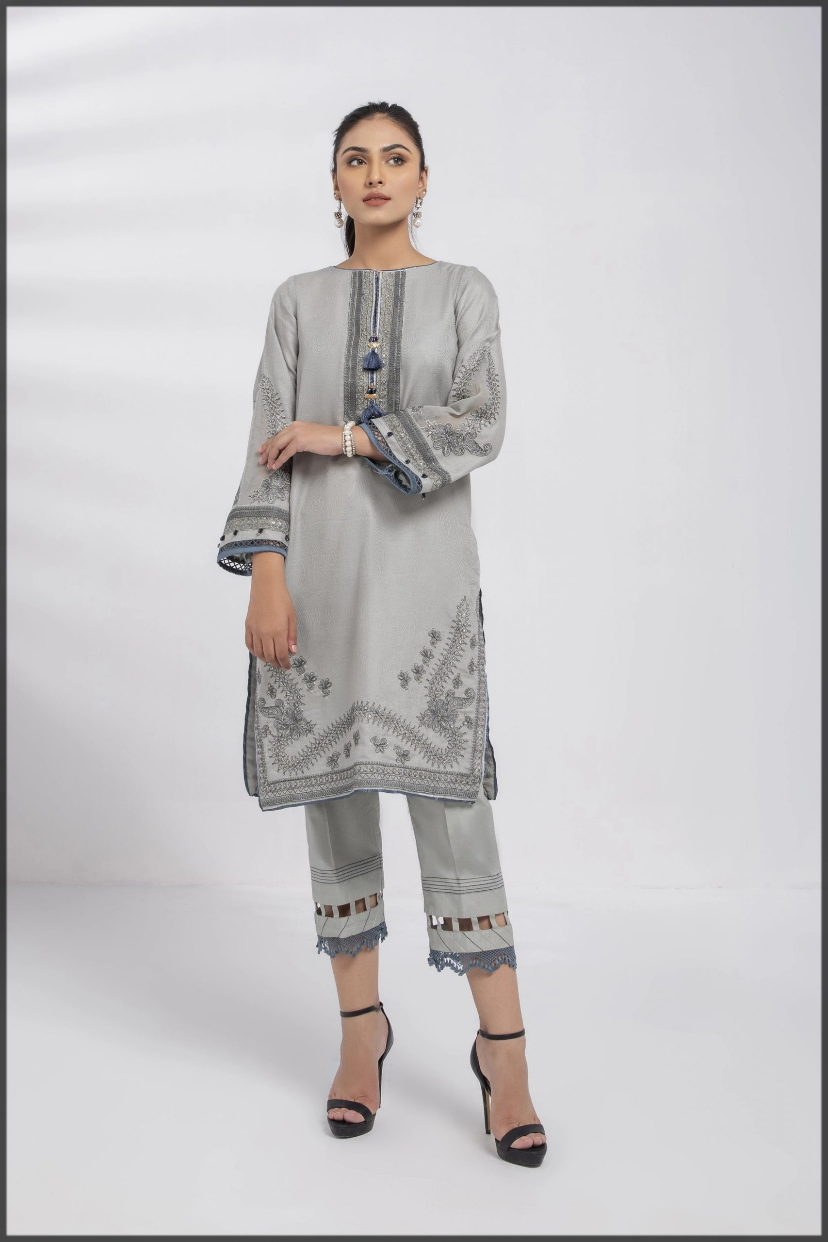 2-Piece Straight Kurta with Trouser for youngest