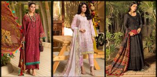 Ansab Jahangir Luxury Lawn 2021 Embroidered Collection with Prices