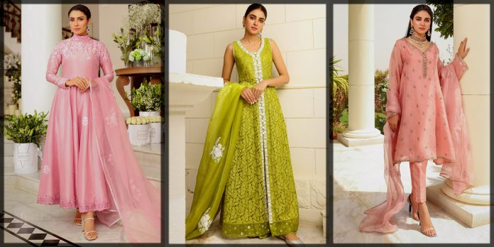 Beautiful Ansab Jahangir Pret Eid Collection for Women and Young Girls