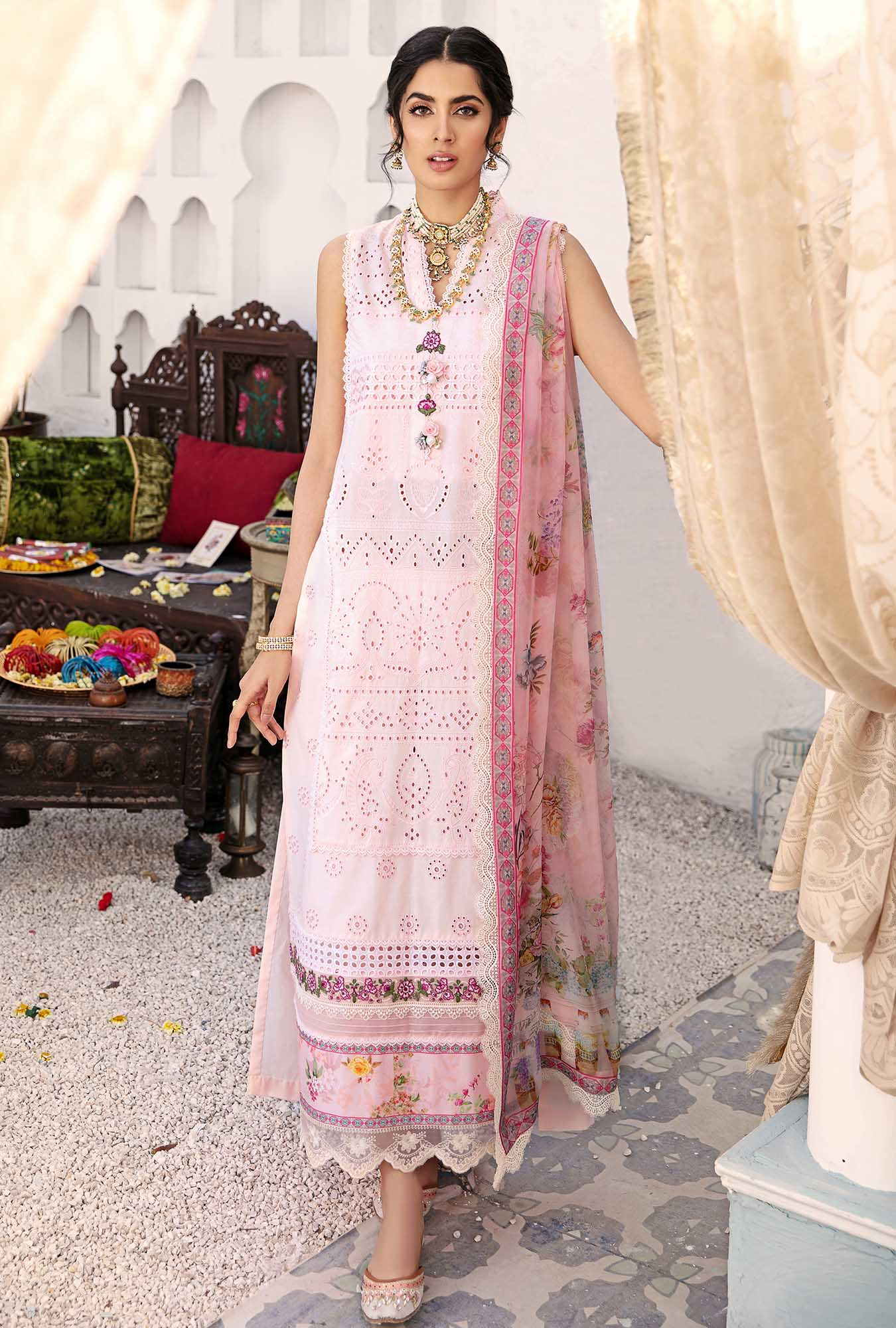 Eid chikankari dress Saadia Asad Eid Collection