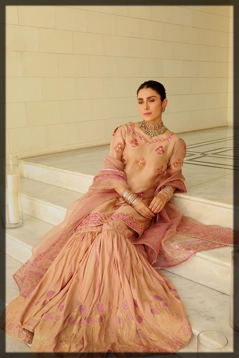 Gharara dress for eid