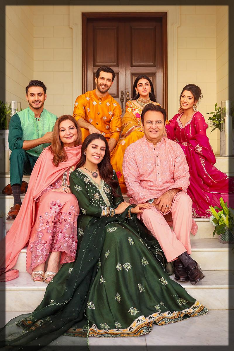 Latest Ansab Jahangir Eid Collection