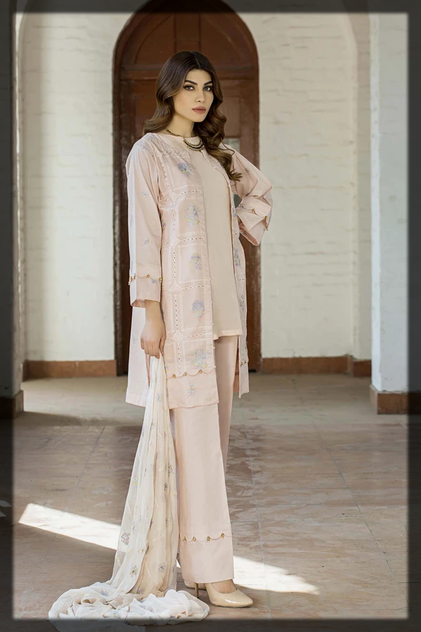 Latest Taana Baana Eid Collection for young girls