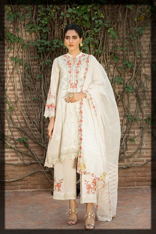 Latest and classical Taana Baana Eid Collection for women